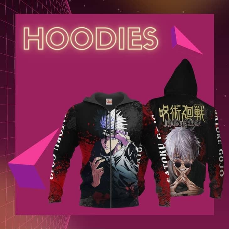 jujutsu kaisen hoodies 1 - Jujutsu Kaisen Merch Store