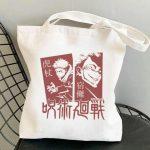 Tote Bag Jujutsu Kaisen Shop- Jujutsu Kaisen Merch