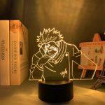Lampe LED 3D Yuji Itadori Possédé   Jujutsu Kaisen 16 couleurs Official Jujutsu Kaisen Merch