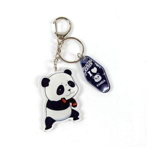 Porte-clés Panda Cartoon | Jujutsu Kaisen Default Title Official Jujutsu Kaisen Merch