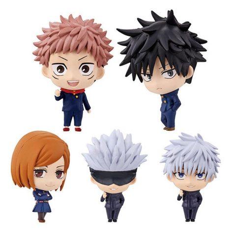 Lot 5 Figurines Jujutsu Kaisen | Yuji, Gojo, Megumi, Sukuna Default Title Official Jujutsu Kaisen Merch