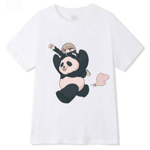 T-shirt Panda - Toge Inumaki | Jujutsu Kaisen Gris / 4XL Official Jujutsu Kaisen Merch
