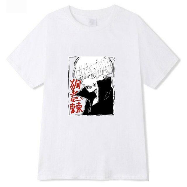 T-shirt Toge Inumaki Saumon   Jujutsu Kaisen Noir / 4XL Official Jujutsu Kaisen Merch