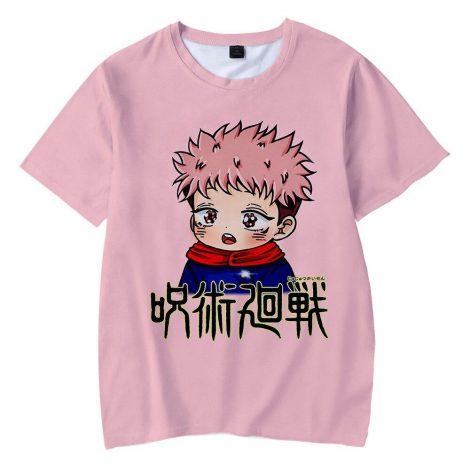 T-shirt Yuji Itadori Kawaii | Jujutsu Kaisen XXS Official Jujutsu Kaisen Merch