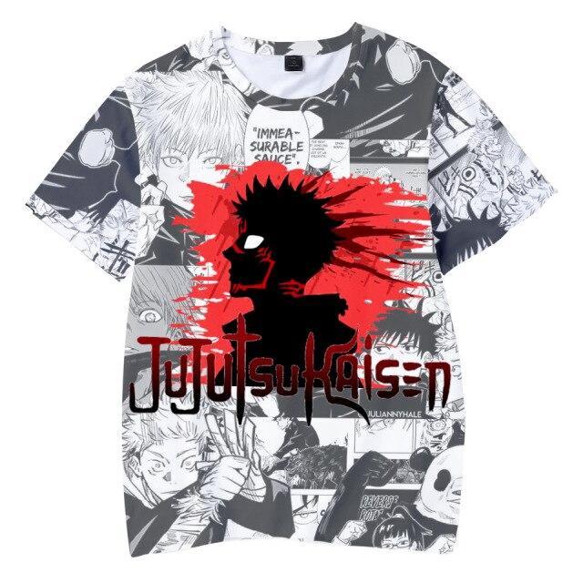 T-shirt Sukuna Pourpre | Jujutsu Kaisen XS Official Jujutsu Kaisen Merch