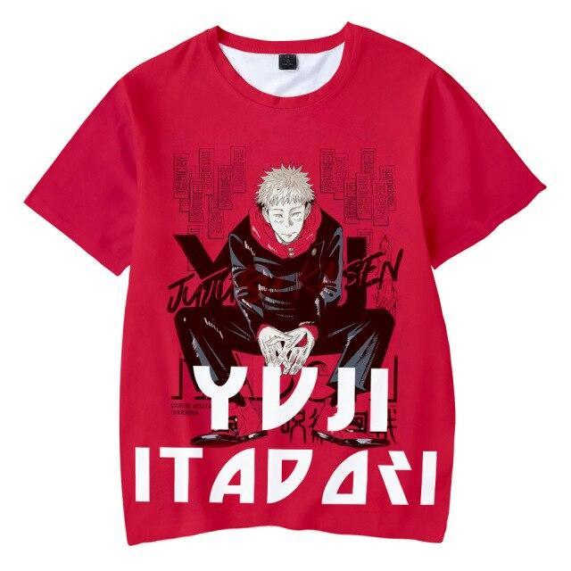 T-shirt Yuji | Jujutsu Kaisen XS Official Jujutsu Kaisen Merch