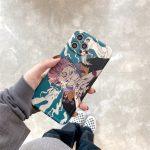Cartoon Anime Jujutsu Kaisen Yuji Itadori Fushiguro Megumi Phone Case For Iphone 12 11 Pro X 2 - Jujutsu Kaisen Store
