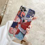 Cartoon Anime Jujutsu Kaisen Yuji Itadori Fushiguro Megumi Phone Case For Iphone 12 11 Pro X 3.jpg 640x640 3 - Jujutsu Kaisen Store