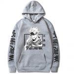 Jujutsu Kaisen Hoodie Hip Hop Anime Pullovers Tops Loose Long Sleeves Autumn Man Cloth 3 - Jujutsu Kaisen Store