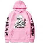 Jujutsu Kaisen Hoodie Hip Hop Anime Pullovers Tops Loose Long Sleeves Autumn Man Cloth 5 - Jujutsu Kaisen Store
