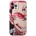 Jujutsu Kaisen Itadori Yuji Ryomen Sukuna Phone case For iPhone 12 Evil smile soft cover - Jujutsu Kaisen Store